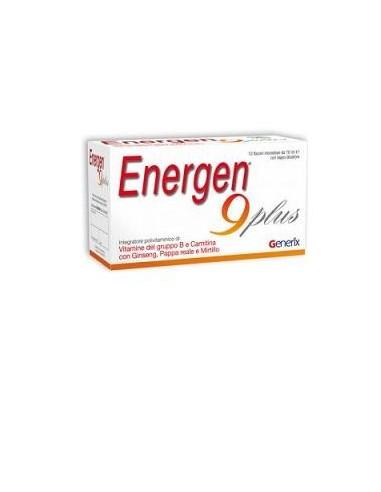 ENERGEN 9 PLUS 10 FLACONCINI 10 ML