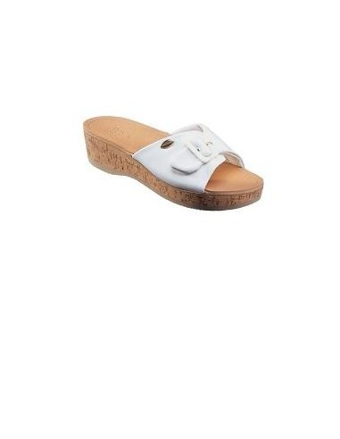WAPPY LEATHER WOMENS WHITE MEMORY...