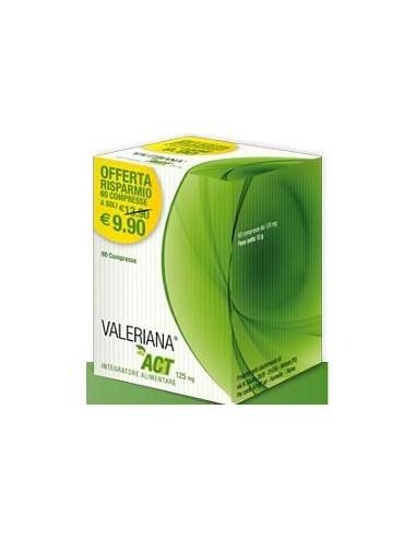 VALERIANA ACT 125 MG 60 COMPRESSE DA...