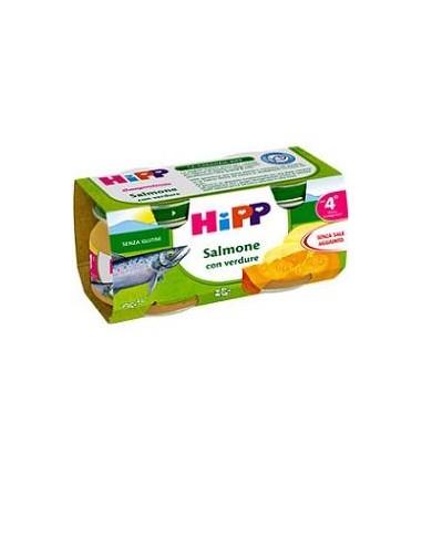 HIPP OMOGENEIZZATO SALMONE CON...