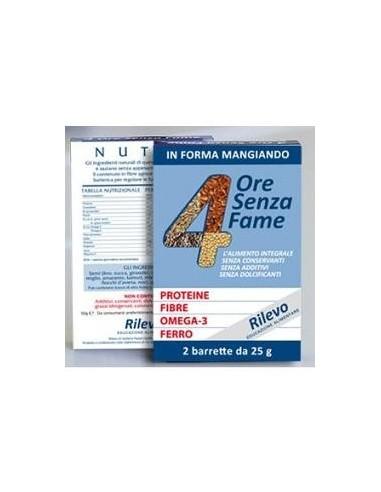 4 ORE SENZA FAME 2 BARRETTE 25 G