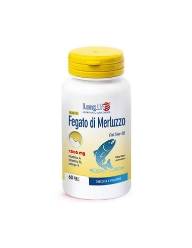 LONGLIFE OLIO FEGATO MERLUZZO 1000 MG...